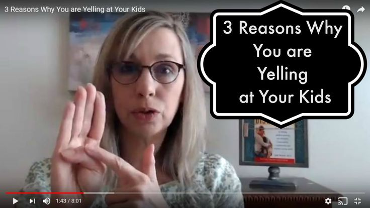 Once you understand WHY you're yelling, you are taking the first step to changing that habit. This video will help you see the problem of yelling with fresh eyes and narrow down the cause of your yelling to three simple reasons. After you identify your personal reasons for yelling, then you can decide on an action plan that will address the reasons.