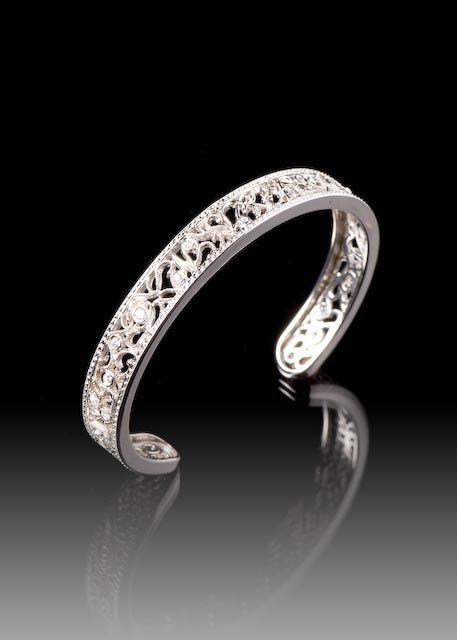 JPratt Designs: Custom designed and custom created thin ladies cuff bracelet