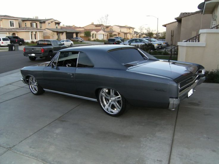 1966 Chevelle Hell on Wheels   Ooohhh, I want, I want!  Love the color