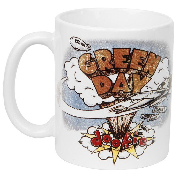 """Tazza in ceramica """"Dookie"""" dei #GreenDay."""
