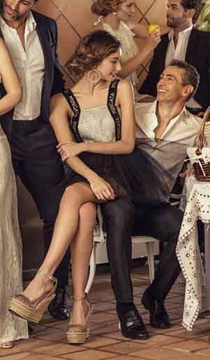 ➡ Precioso #vestido #tul #negro de #Mängata! 💶 Disponible en la #boutique #MaribelFernández con un 50% de #DESCUENTO
