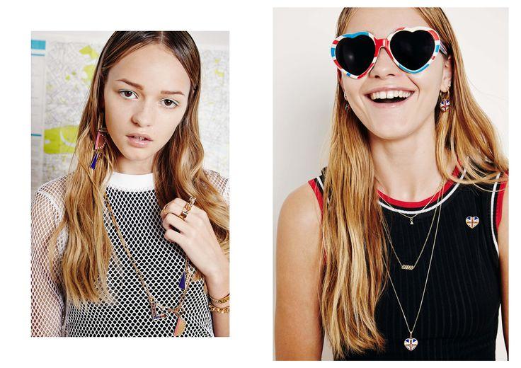 Maria Francesca Pepe SS15 Fashion Jewellery Collection