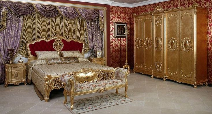 FS 010 French CLASSICAL bedroom SET-in Bedroom Sets from Furniture ...