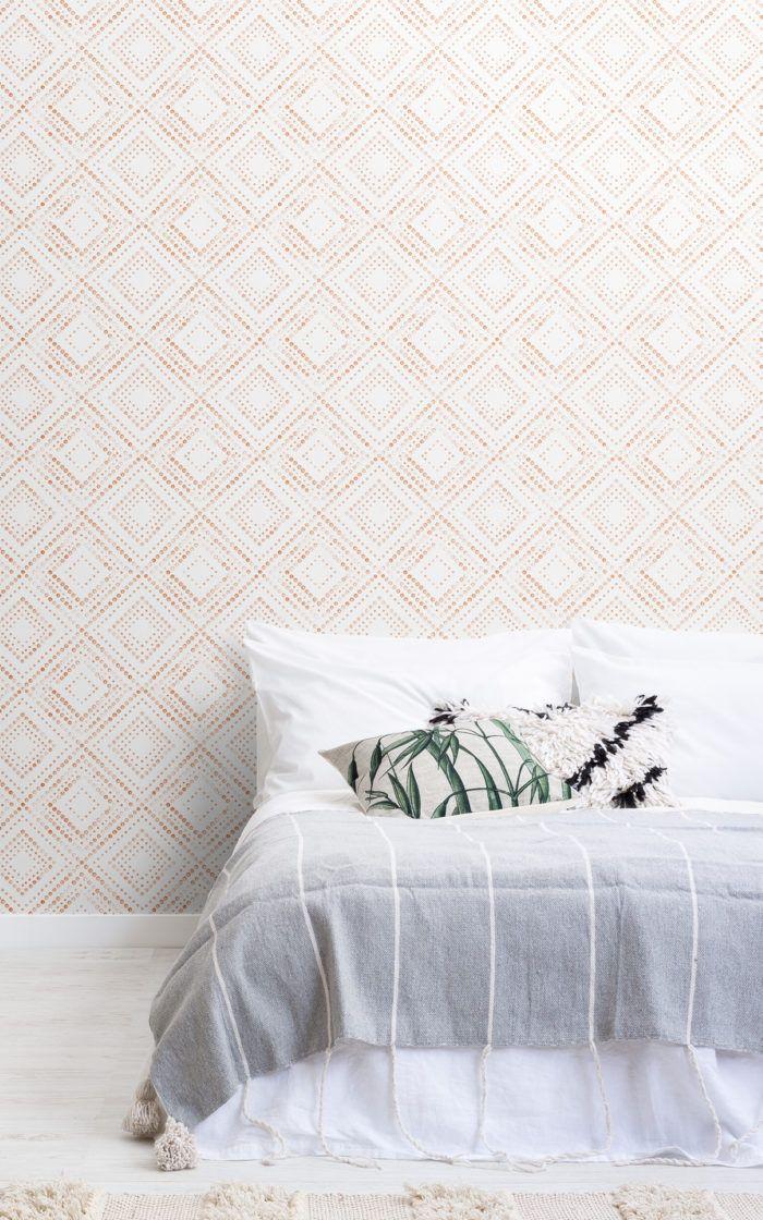 Pin On New House Boho bedroom wallpaper ideas
