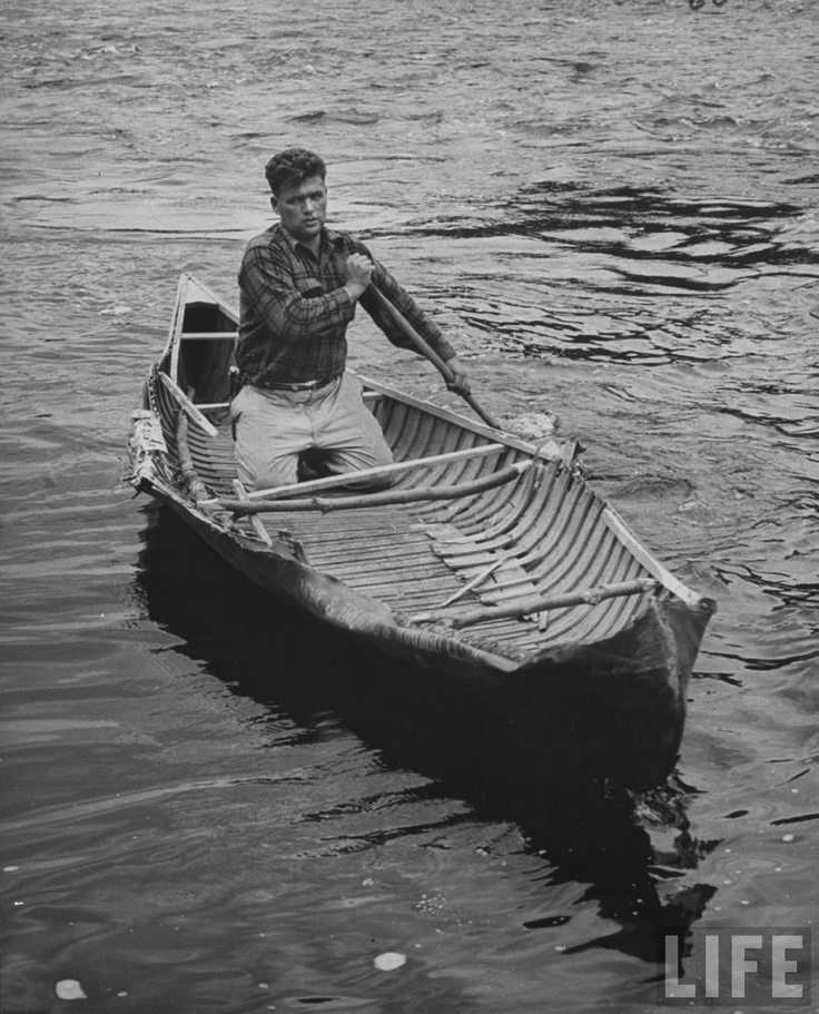 Paddle Making (and other canoe stuff): Life Article - Robert Rock - Battered W/C Canoe