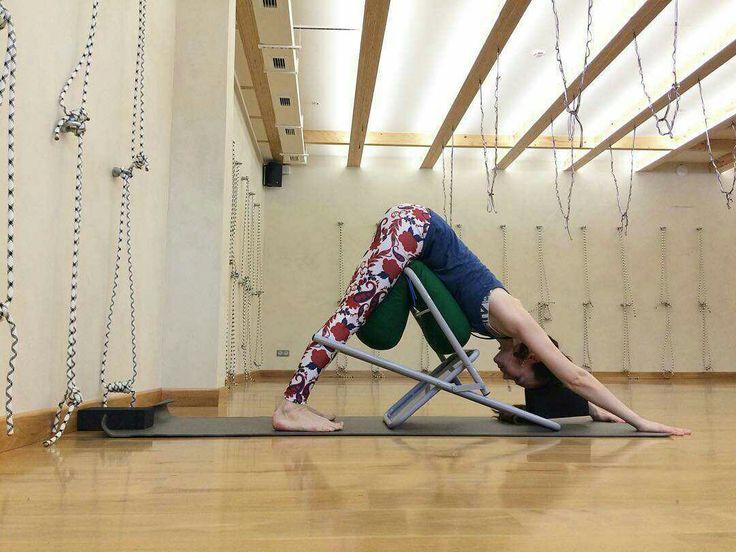 Pin by Sibilla Vane on Йога | Chair yoga, Iyengar yoga ...