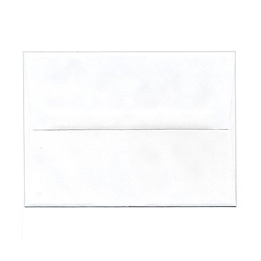 Cheap Envelopes JAM Paper® 5 1/4in. x 7 1/4in. Booklet Straight Flap A7 Envelopes With Gummed Closure, White, 25/Pack