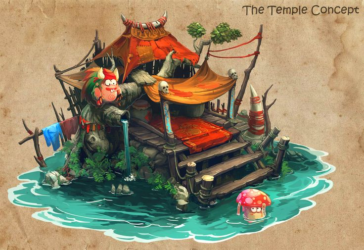 The Temple, Nghĩa Nguyễn on ArtStation at http://www.artstation.com/artwork/the-temple-d59db314-ebaa-4c3e-bd1f-dd33ab550be1