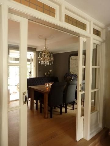 Doors to dining room