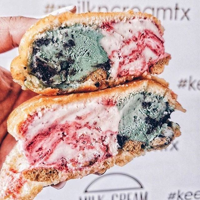 """Summer is still sweet as ever in #Dallas ☀️ Indulge in a sweet treat like this Milk & Cream bun from @milkncreamtx, introducing the iconic milky bun scene to Dallas 🍨 #HotelCrescentCourt #KeepDallasSweet 📸: @foodwithmonica"" by @hotelcrescentcourt. #europe #roadtrip #여행 #outdoors #ocean #world #hiking #lonelyplanet #instalive #ilove #instalife #sightseeing #unlimitedparadise #tour #instamoment #instacool #instagramers #instapicture #travelingram #instatraveling #traveler #traveller…"