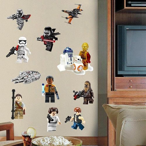Star Wars Poster Lego Movie Wall Stickers Art For Baby Nursery Kid Room  Home Decoration WallPaper Part 17