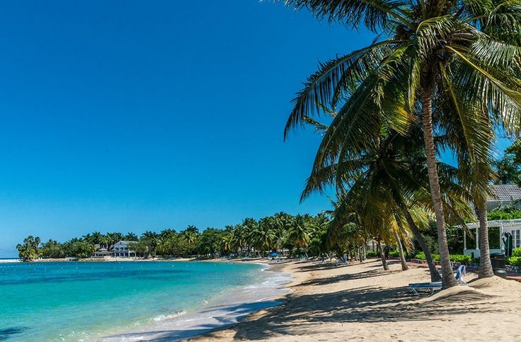 A lovely beach at Half Moon Resort in Montego Bay, one of Caribbean Journal's 10 Romantic Resorts in Jamaica. See the other resorts that made the list here: http://www.caribjournal.com/2016/12/29/10-romantic-resorts-jamaica/3/#