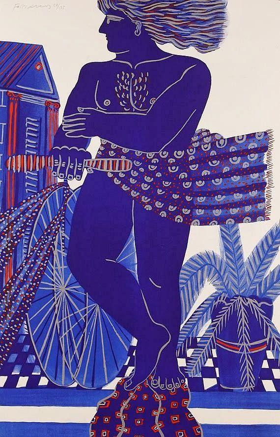 Alekos Fassianos (born 1935) is a Greek Expressionist painter