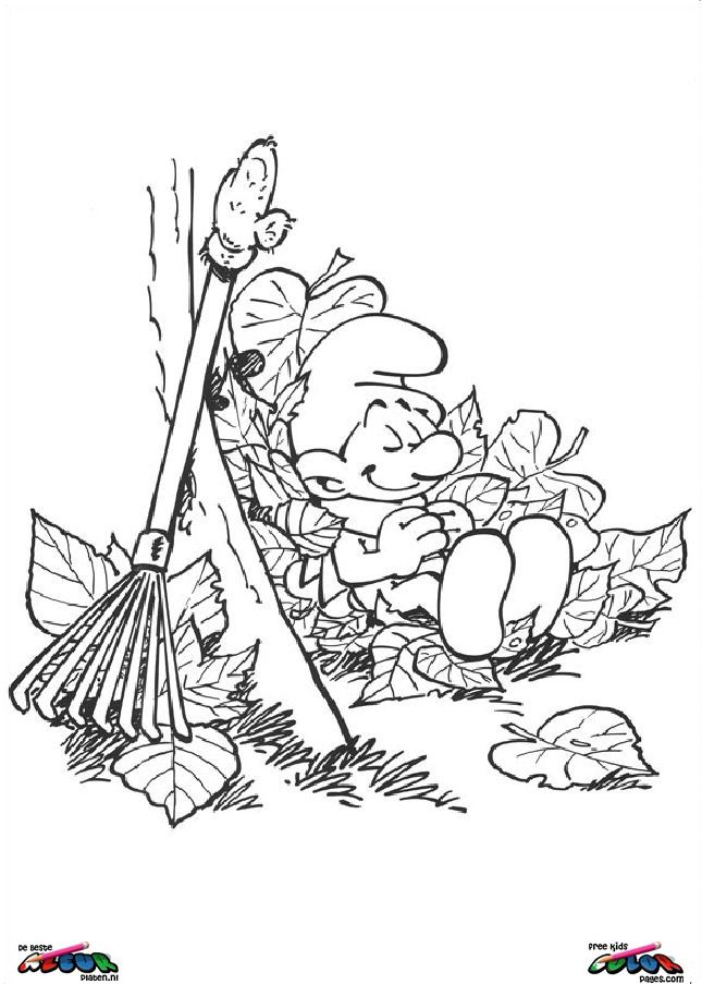 The Smurfs022 - Printable coloring pages