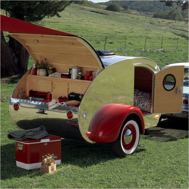 Aluminum Teardrop Trailers : Best images about campers on pinterest vintage
