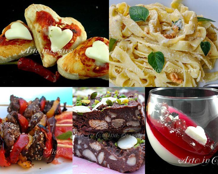 Cena romantica per due a base di carne