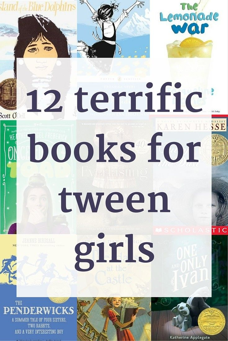 12 terrific books for tween girls. (The comment section is a gold mine, too)