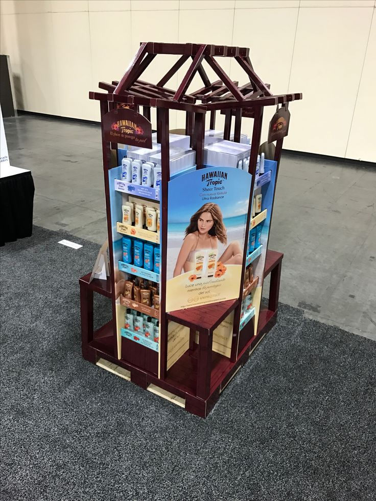 Looking To Purchase This Unit: Hawaiian Tropics Free Standing Unit