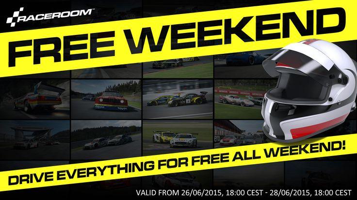 RaceRoom Free All Weekend!