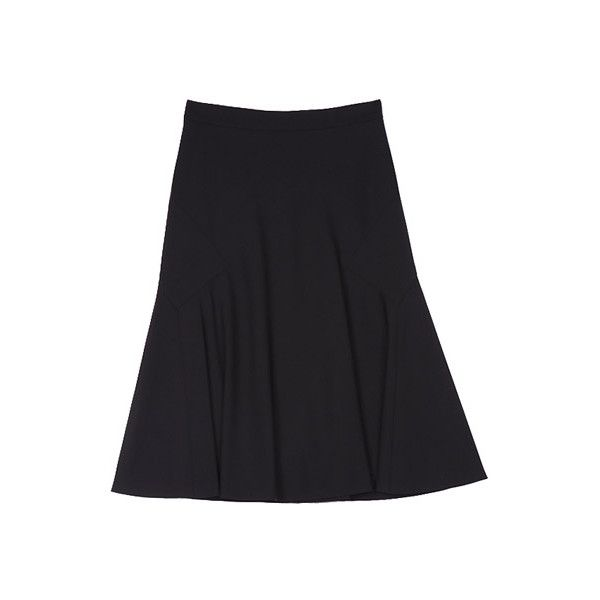 LONG FLARE SKIRT - Koh Samui fashion boutique – designer and vintage wear ($565) found on Polyvore featuring women's fashion, skirts, long skater skirt, flared skirts, long circle skirt, long flared skirt and vintage skirts