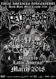 Long Live The Loud 666: BELPHEGOR LATIN AMERICAN TOUR 2018 WITH: NARGAROTH...