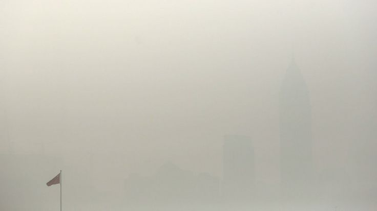 One of the world's most #polluted city is #Shanghai, China.  Take a look a these pictures.