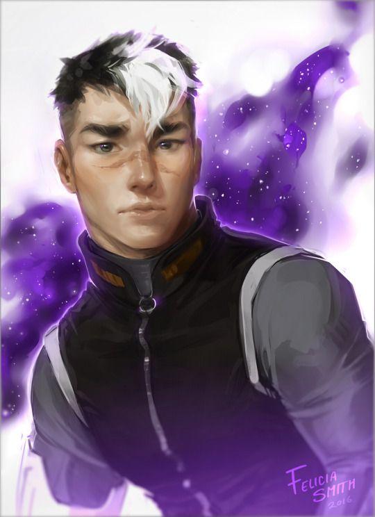 Artscapades/Felicia Smith realistic fan art of Shiro from ...
