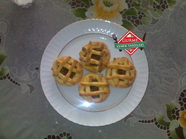 elmalı mini tart tarifi #tart #yemektarifleri #recipes