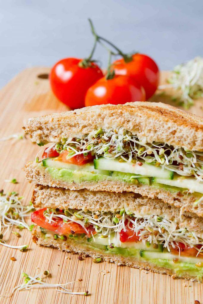 Vegan Hummus Avocado Sandwich   Cookin Canuck   Recipe in ...