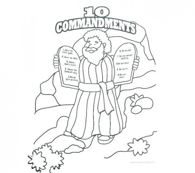 11 Commandments Coloring Pages Johnsimpkins Com Free Printable