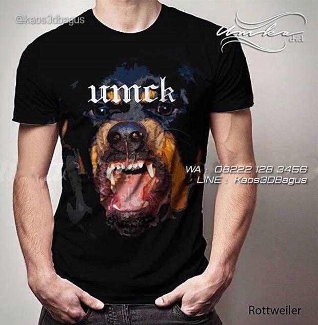Kaos ROTTWEILER - Kaos Anjing Rottweiler - Kaos 3D Dog Lovers - Umkachick Rottweiler, WA : 08222 128 3456, LINE : Kaos3DBagus, https://kaos3dbagus.wordpress.com/2016/04/18/kaos-gambar-anjing-3d-rottweiler-pug-golden-retriever-pitbull-bulldog-boxer-husky-herder-beagle-collie-kaos-3d-dog-lover/