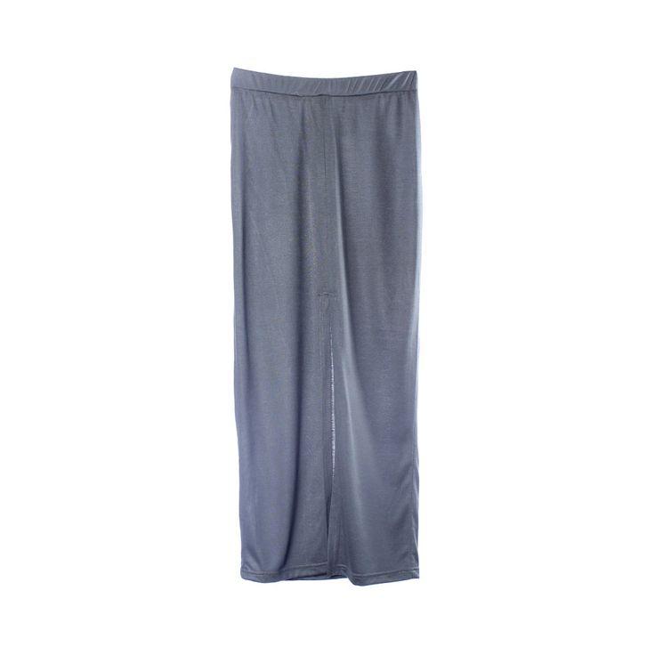 Falda tubo larga