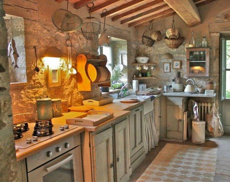 Cozinha Rustica Casas R Sticas Pinterest Kitchen