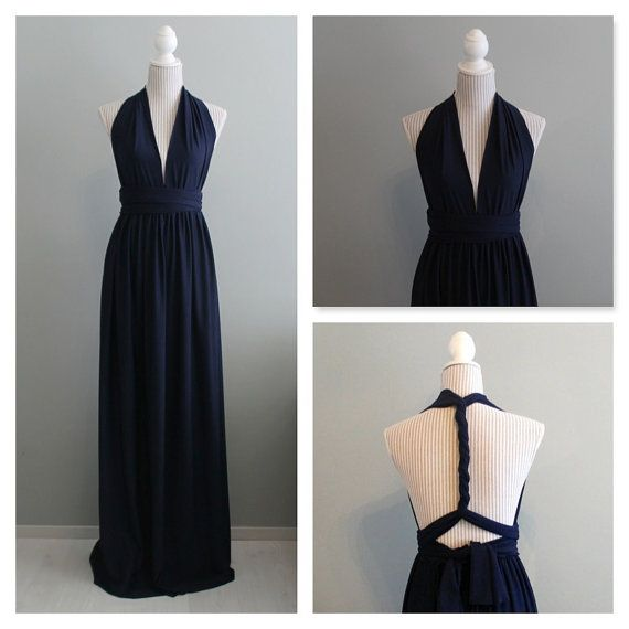 Floor length convertible dress / infinity dress by Batelboutique
