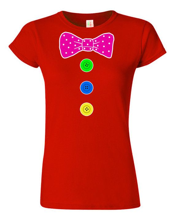 Clown Costume Womans T-Shirt by NotJustNerds on Etsy