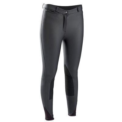 Pantalons Equitation - Pantalon chaud WHIPPY noir FOUGANZA - Equipement du cavalier BLACK