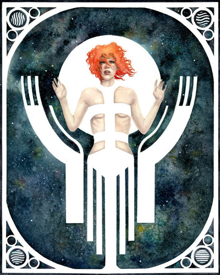 Supreme Being | Kelly McKernan | https://goo.gl/uradHt ##thefifthelement ##leeloodallas - Johnny Peach - Google+