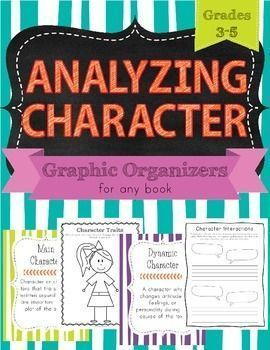 graphic organizer for character traits