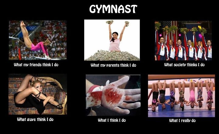 """Gymnast Life. Actually The """"What I Like I Do"""" Is True"""