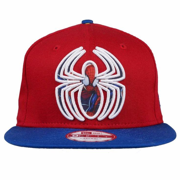 NEW ERA 9FIFTY Snapback Cap SUB ACTION 2 SPIDERMAN Superhero Hat #NewEra #BaseballCap