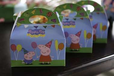 Peppa Pig Lunch Boxes #peppapig