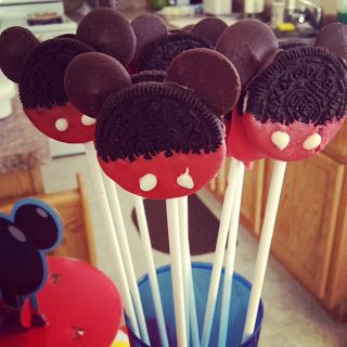 Mommys Craft Obsession: DIY Mickey Mouse Foods