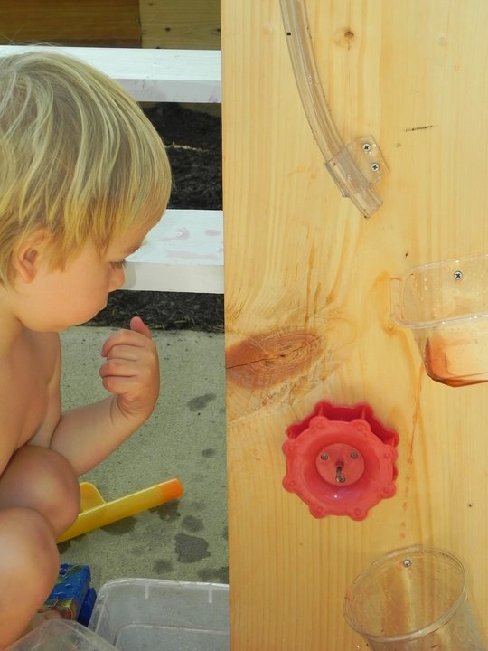 Annabelle would enjoy making this waterboard.  (Play At Home Mom LLC)