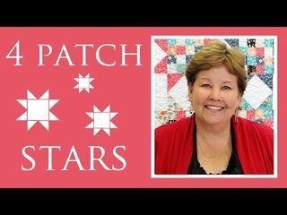 Four Patch Stars | Missouri Star Quilt Company - YouTube | Bloglovin'