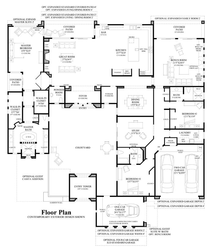 1544 Best House Plans Images On Pinterest | House Floor Plans, Dream House  Plans And Architecture