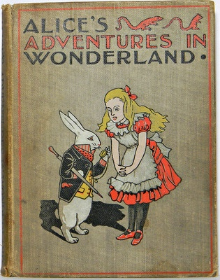 Amazoncom: vintage alice in wonderland book