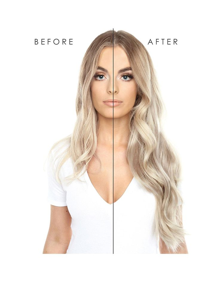 Beauty Works Double Hair Set Clip-In Extensions 22 Inch 100% Remy Hair – 220 Grams in Blondette