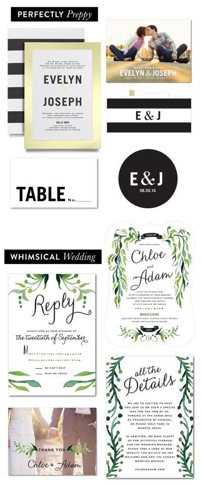 145 best wedding invitations images on Pinterest Invitations