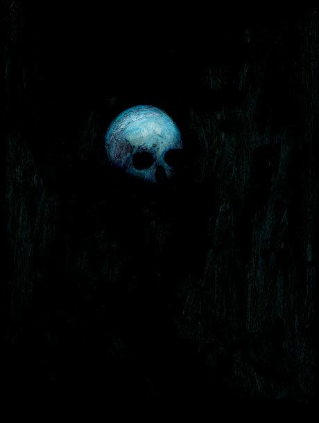 damien hirst floating skull