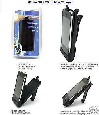 HOLSTERBATTERYCHARGER Power Station Apple Iphone 2 2G   eBay